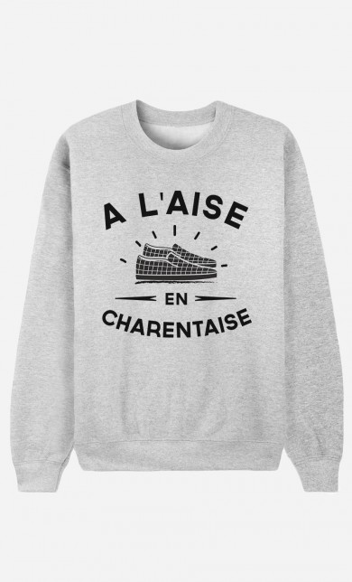 Sweat A L'Aise en Charentaise