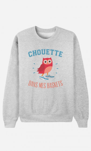 Sweater Chouette Dans Mes Baskets