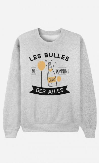 Sweater Les Bulles Me Donnent Des Ailes