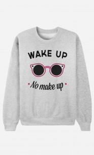 Sweat Femme Wake Up No Make Up