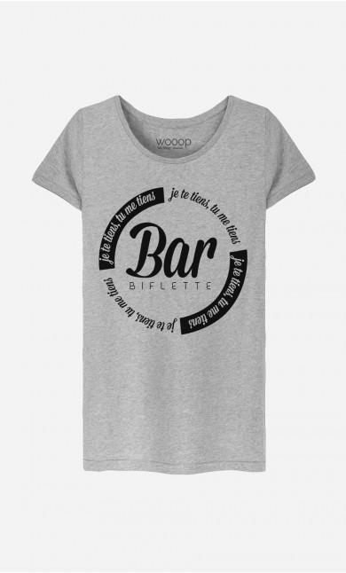 T-Shirt Femme Bar'biflette