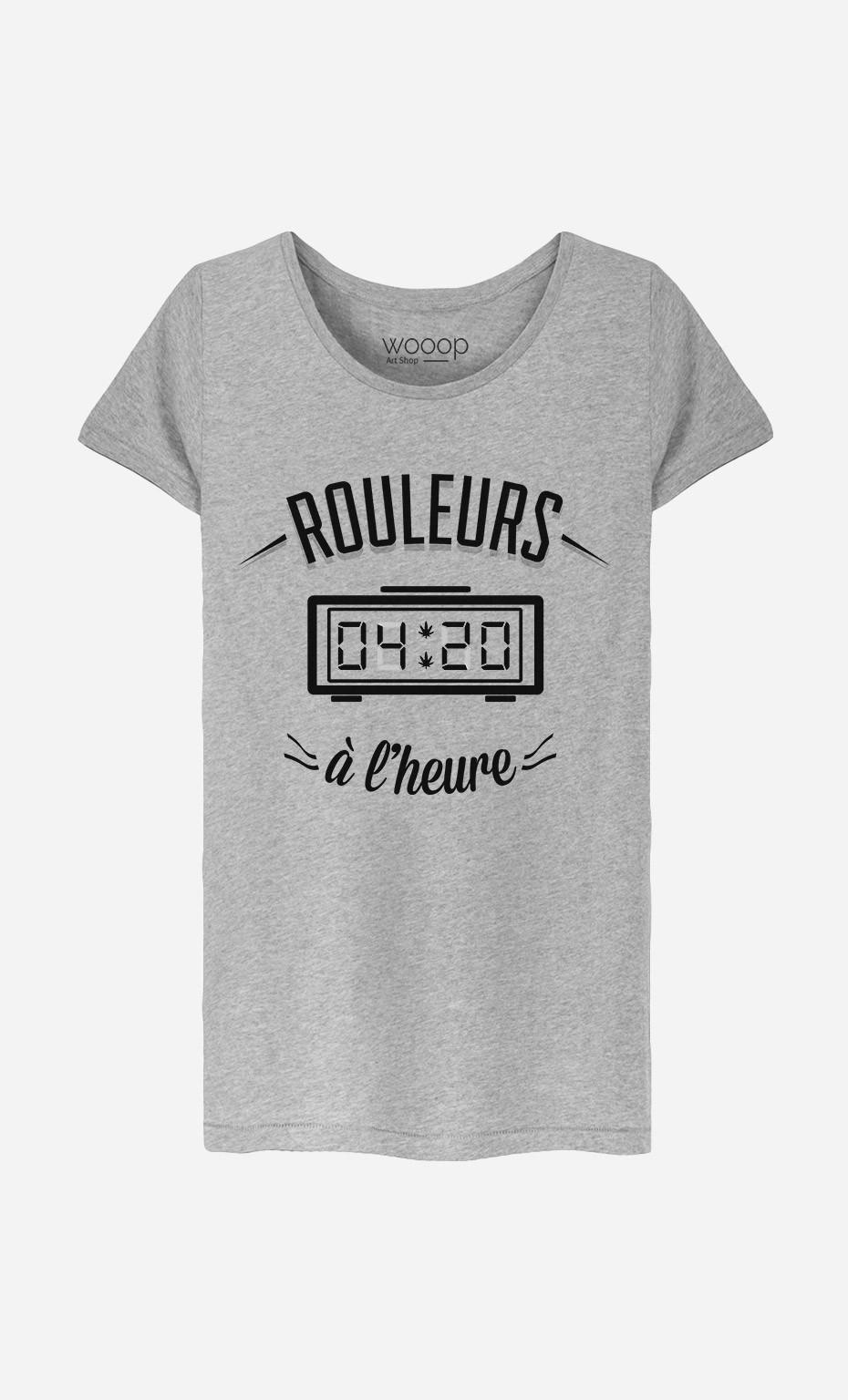T-Shirt Femme Rouleurs à L'Heure
