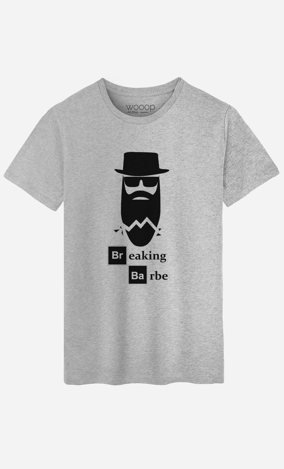 T-Shirt Homme Breaking Barbe