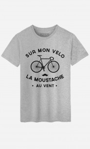 T-Shirt Homme La Moustache Au Vent