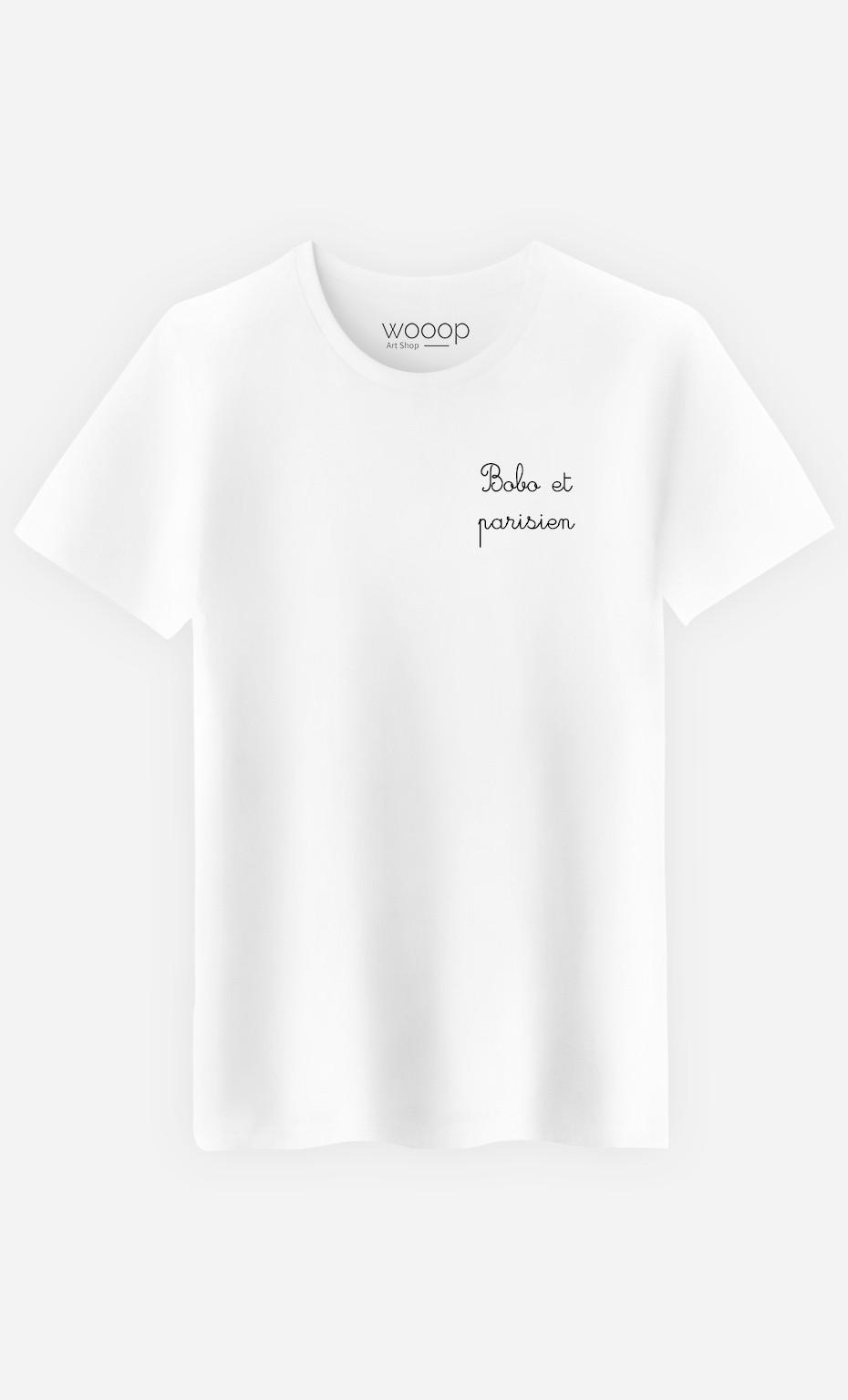 T-Shirt Homme Bobo et Parisien - Brodé