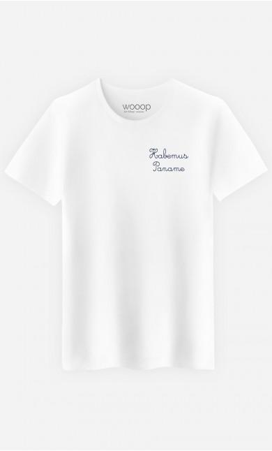 T-Shirt Homme Habemus Paname - Brodé