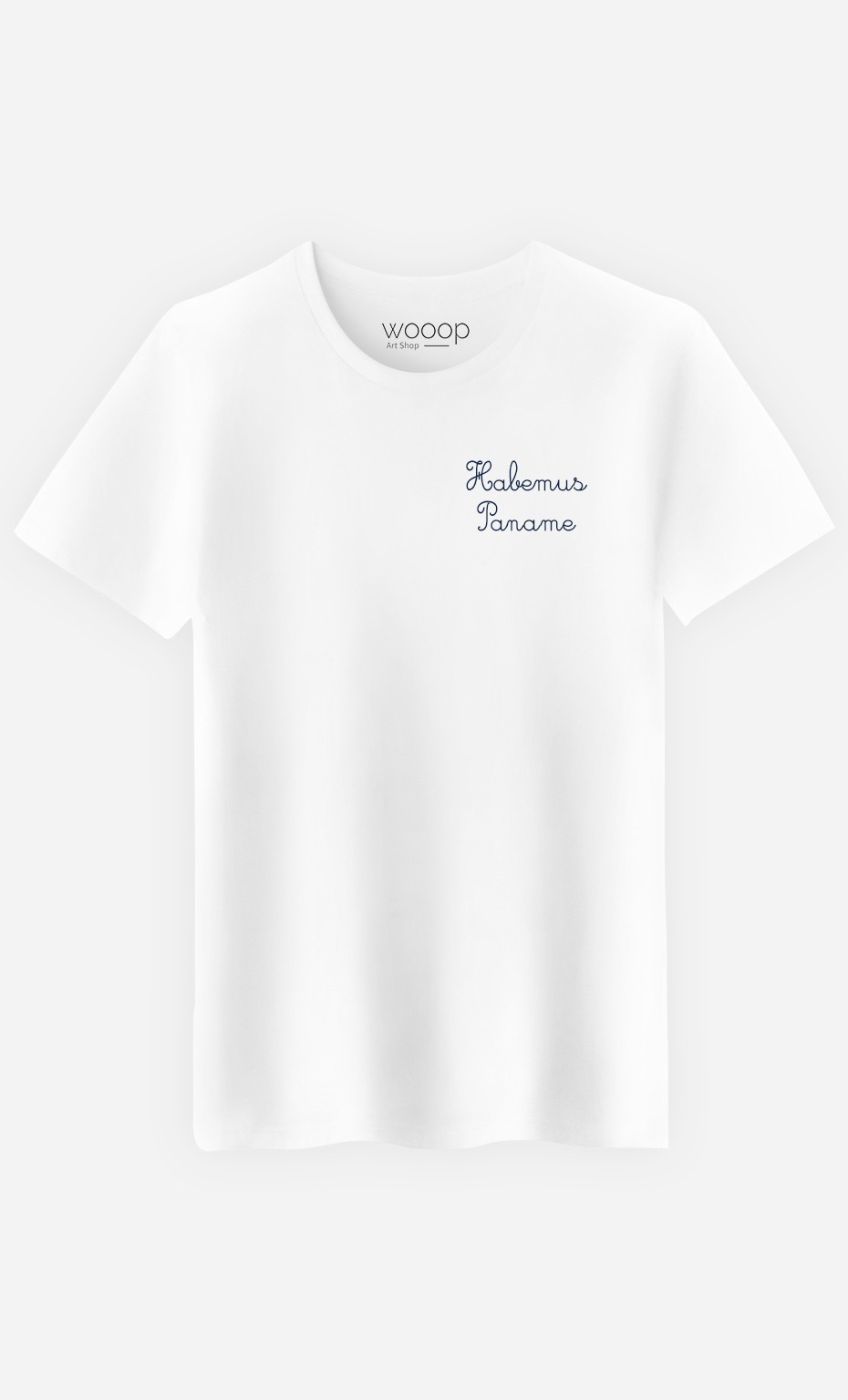 T-Shirt Homme Habemus Paname - Brodé
