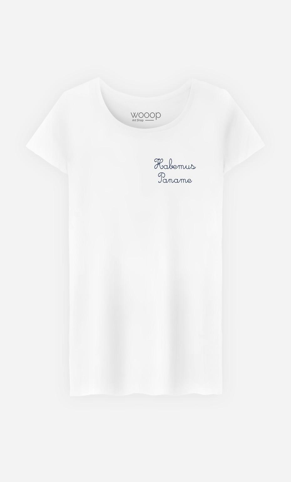 T-Shirt Habemus Paname - Brodé