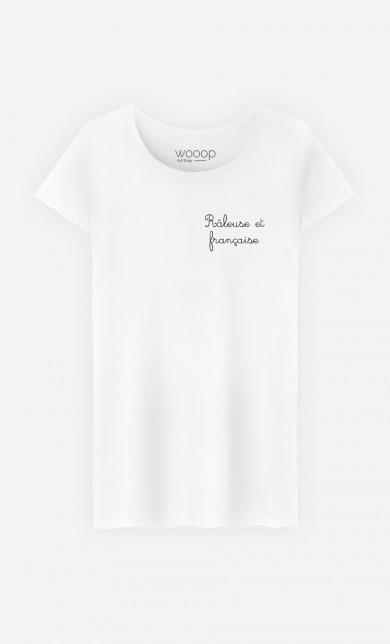 T-Shirt Râleuse et Française - Brodé