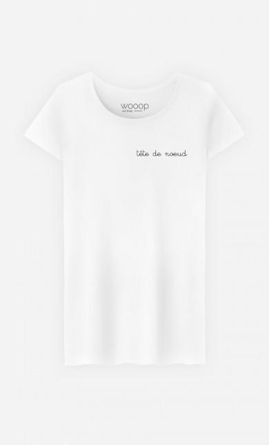 T-Shirt Tête de Nœud - Brodé
