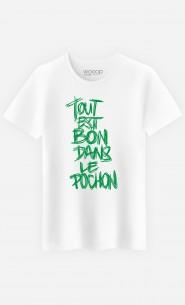 T-Shirt Homme Dans le Pochon