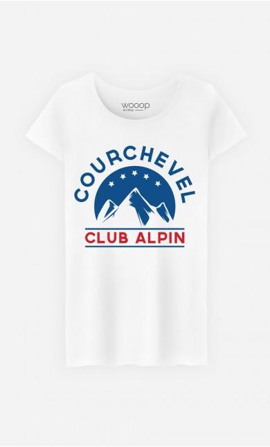 T-Shirt Femme Club Courchevel