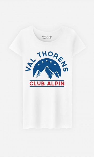 T-Shirt Femme Club Val Thorens