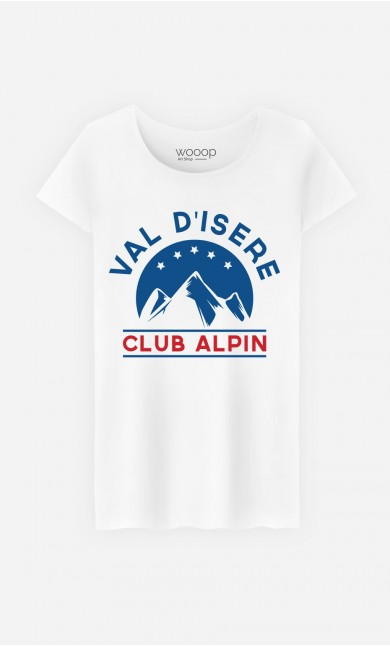 T-Shirt Femme Club Val d'Isère