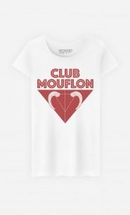 T-Shirt Femme Club Mouflon