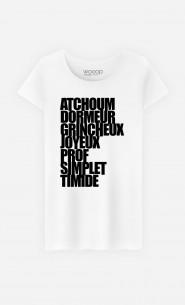 T-Shirt Femme Atchoum