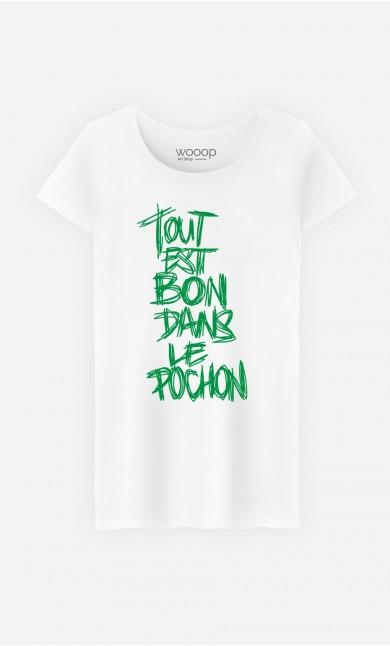 T-Shirt Femme Dans le Pochon