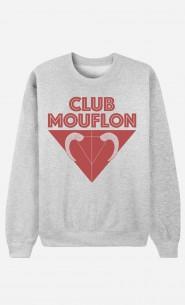 Sweat Femme Club Mouflon