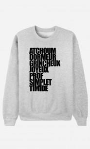 Sweat Femme Atchoum