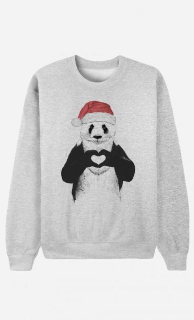 Sweat Santa Panda