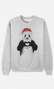 Sweat Homme Santa Panda