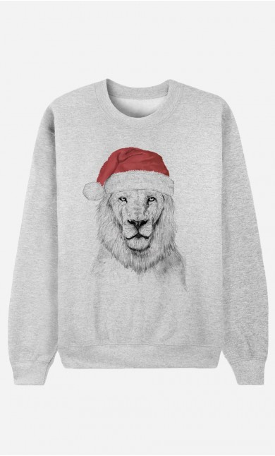 Sweat Santa Lion