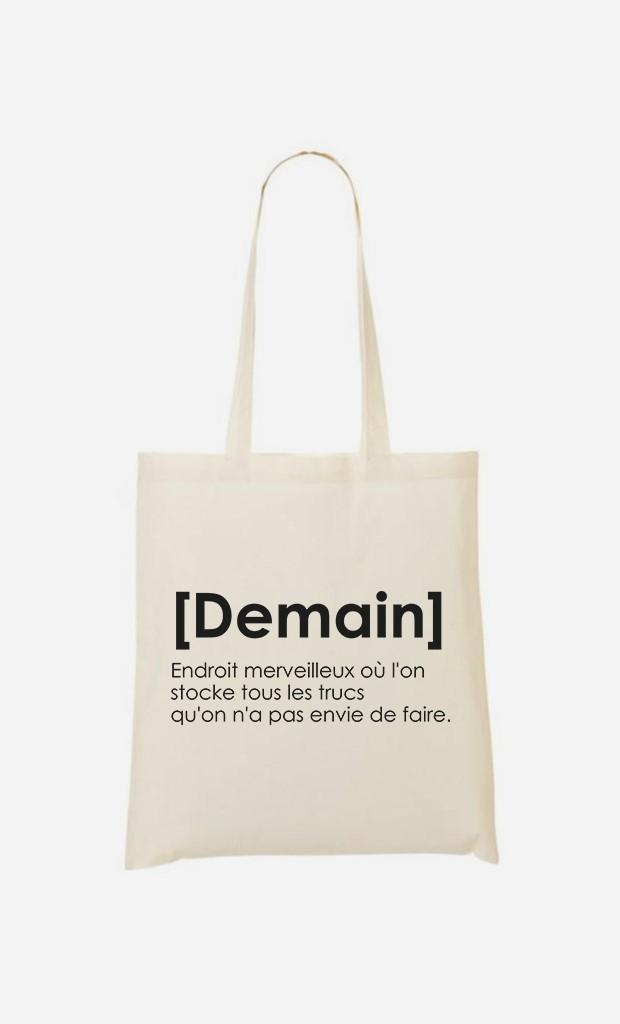 Tote Bag Demain Définition