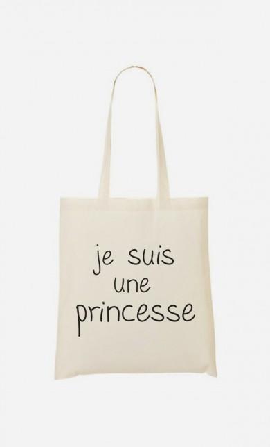 Tote Bag Je Suis Une Princesse
