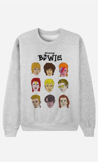 Sweat Homme David Bowie