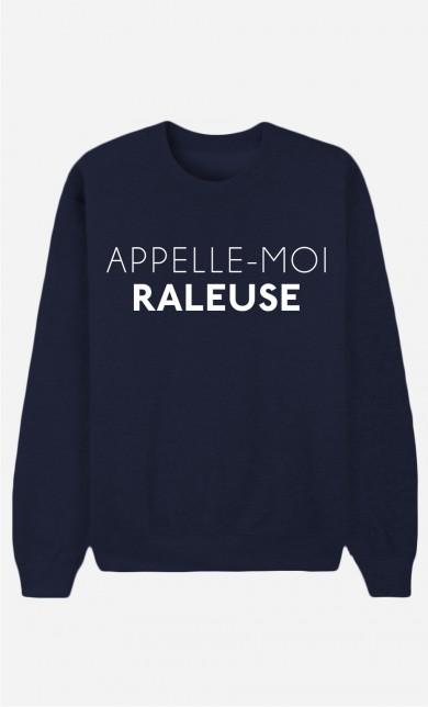 Sweat Bleu Appelle-Moi Râleuse