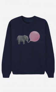Sweat Homme Jumbo Bubble Gum