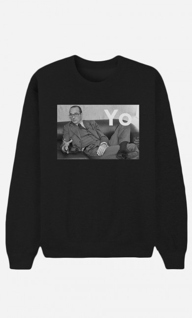 Black Sweater Chirac Yo