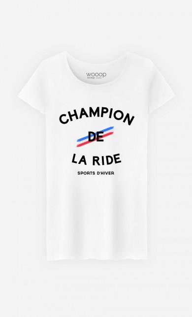 T-Shirt Champion de la Ride