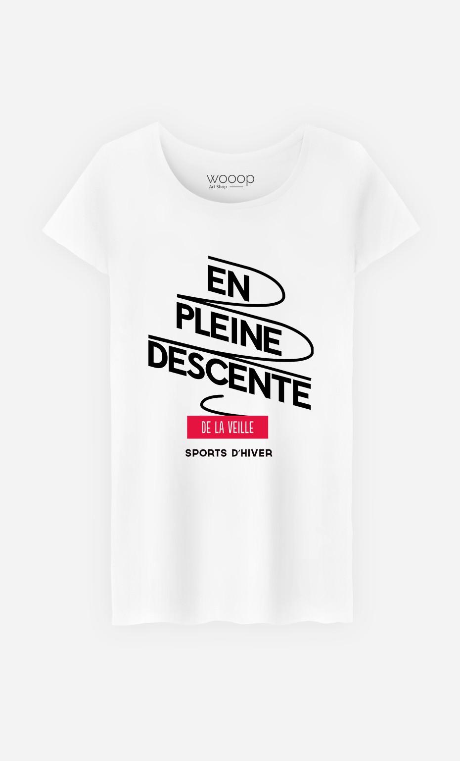 T-Shirt Femme Descente de la Veille