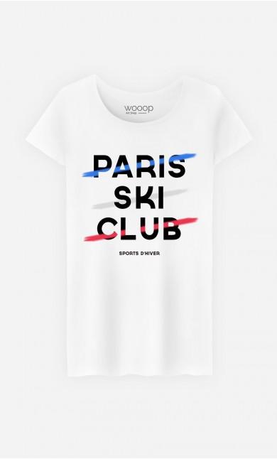 T-Shirt Femme Paris Ski Club