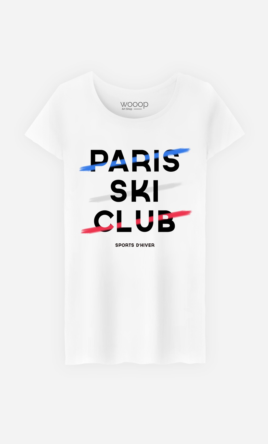 T-Shirt Paris Ski Club