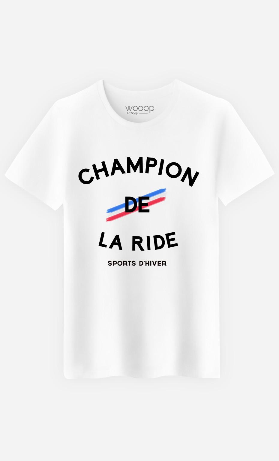 T-Shirt Homme Champion de la Ride