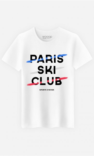 T-Shirt Homme Paris Ski Club