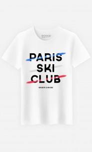 T-Shirt Homme Paris Ski Club