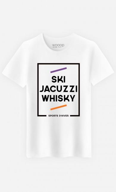 T-Shirt Ski Jacuzzi Whisky