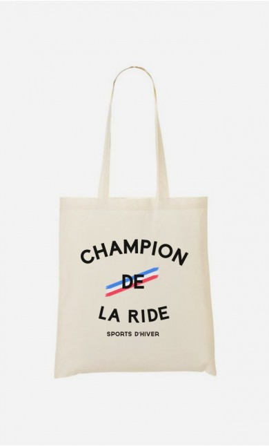 Tote Bag Champion de la Ride
