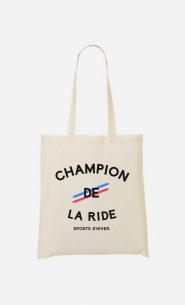 Tote Bag Champion de la Ride