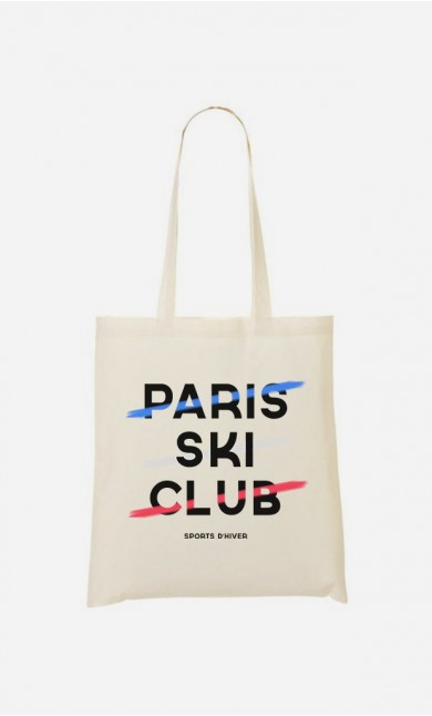 Tote Bag Paris Ski Club