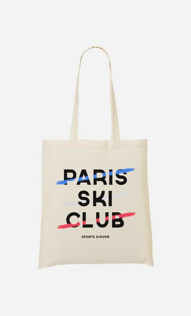 Tote Bag Paris Ski Club