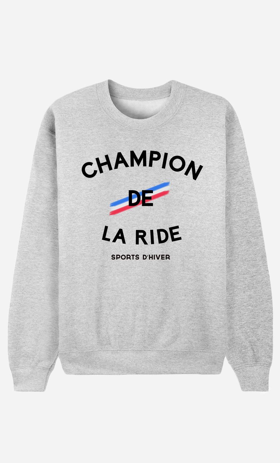Sweat Femme Champion de la Ride