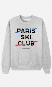 Sweat Femme Paris Ski Club