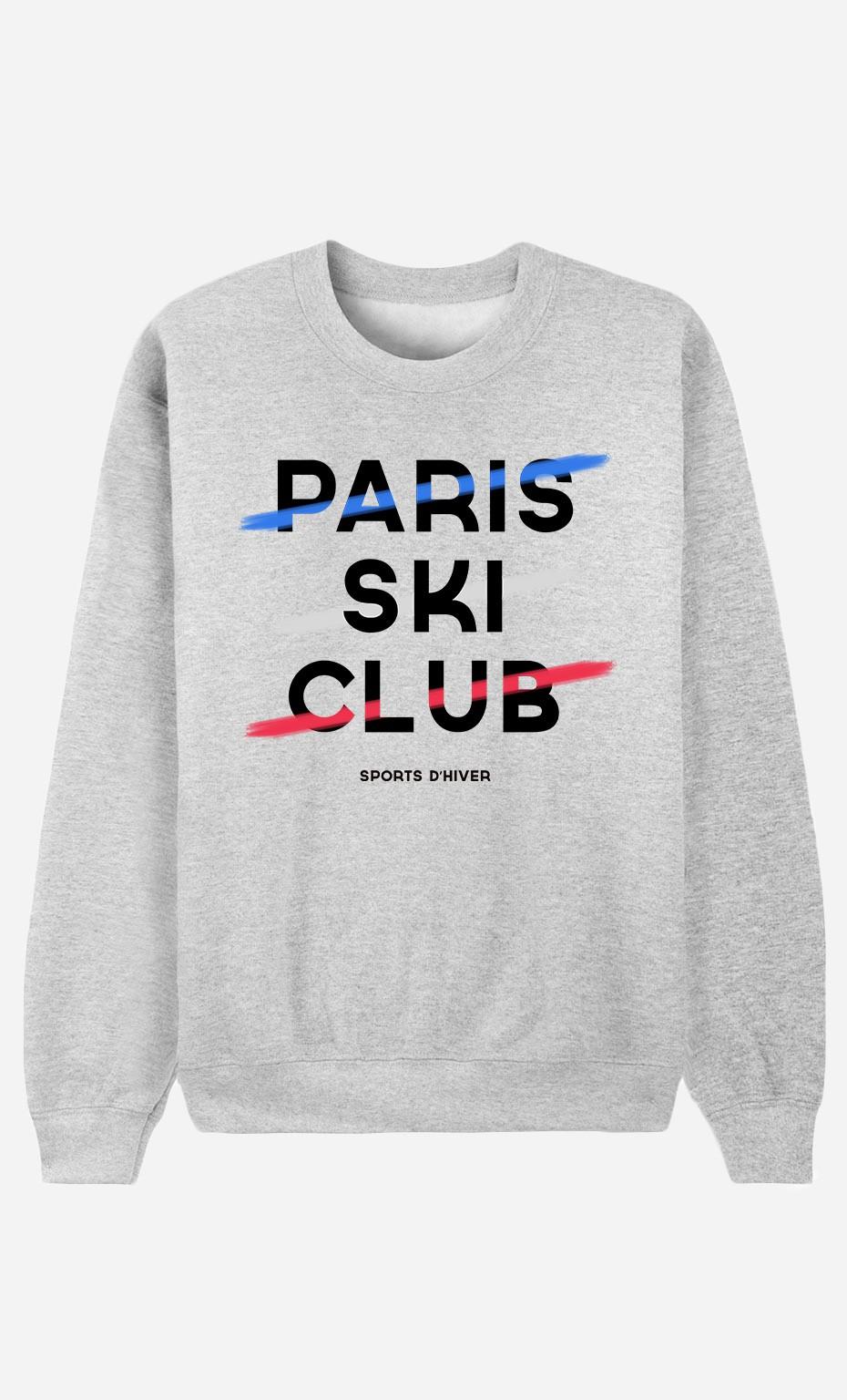 Sweat Femme Paris Ski Club