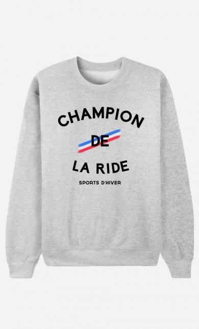 Sweat Champion de la Ride