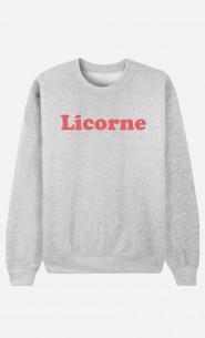 Sweat Femme Licorne