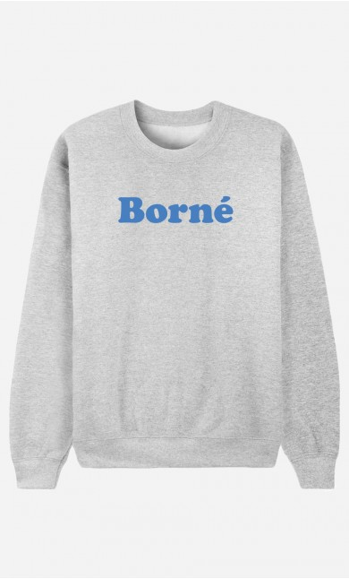 Sweat Homme Borné